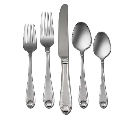 Oneida Satin Garnet 18/10 Stainless Steel 65-PcFlatware Set