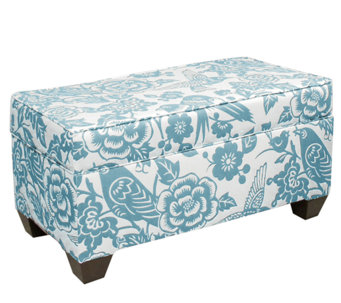 Skyline Furniture Storage Ottoman - H283223