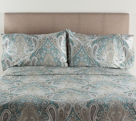 100% Cotton Crystal Palace Twin Sheet Set