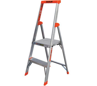 Little Giant 4' Flip-N-Lite Lightweight Step Ladder - H287823