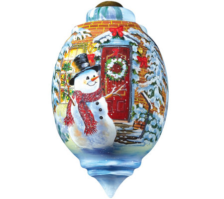 Snow Place Like Home Ornament by Ne'Qwa