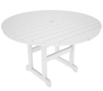 "POLYWOOD Traditional Round 48"" Dining Table - H349923"
