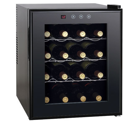 SPT 16-Bottle Wine Cooler with Heating