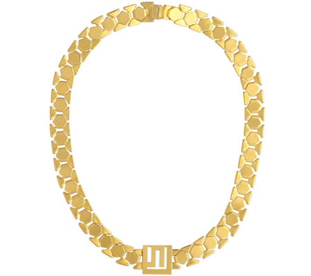 Stella Valle Geometric Chain Necklace by Lori Greiner
