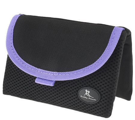 """As Is"" On the Go Belt-Free Large Pouch by Lori Greiner"