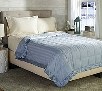 Northern Nights Reversible 400TC Cotton Dobby Queen Down Blanket - H209724