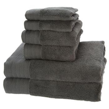 Northern Nights Super Duet 100% Cotton 6-piece Bath Towel Set