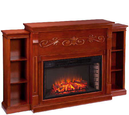 Litchfield Bookcase Electric Fireplace