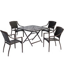 Hanover Outdoor Orleans 5-Piece Dining Set - H288924