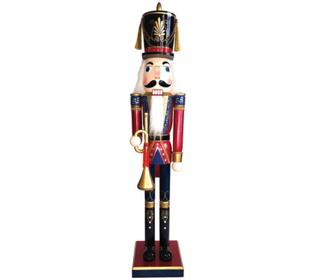 "60"" Royal Bugler Nutcracker by Santa's Workshop"