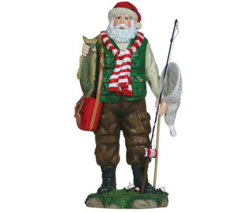 Fisherman Santa Figurine by Pipka - H290024