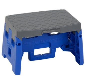 Cosco 1-Step Molded Folding Step Stool - H290124