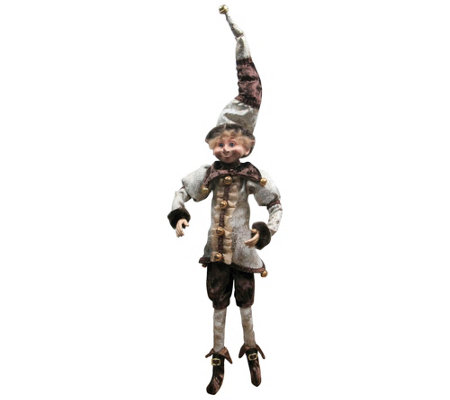 "Floridus Elves 16"" ""Zippy"" Elf Figurine"