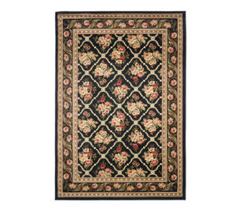 "Lyndhurst Floral Lattice Power Loomed 3'3"" x 5'3"" Rug - H356824"