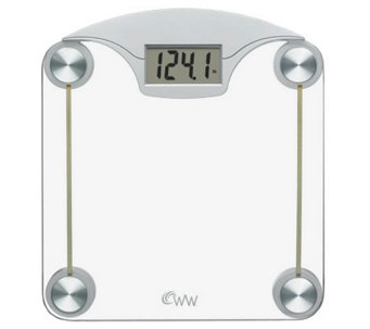 Conair WW39 Weight Watchers Digital Glass & Chrome Scale - H364024