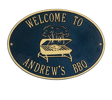 Personalized Grill Plaque