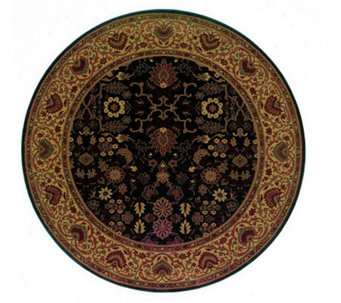 "Couristan 3'11"" Everest ""Tabriz"" Round Rug - H160325"