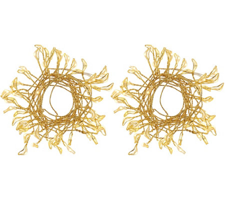 Scott Living Set of 2 Branch Fairy Micro Light Strands