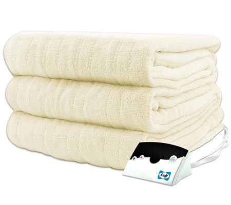 Biddeford Microplush Twin Size Heated Blanket