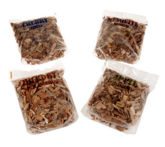 Masterbuilt Set of 4 Multi-flavor Wood Chips - H284125