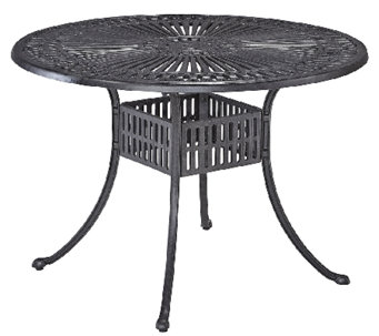 Home Styles Largo 42 Inch Round Outdoor DiningTable - H286925