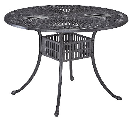Home Styles Largo 42 Inch Round Outdoor DiningTable