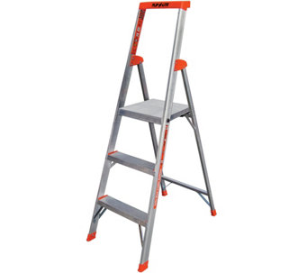 Little Giant 5' Flip-N-Lite Lightweight Step Ladder - H287825