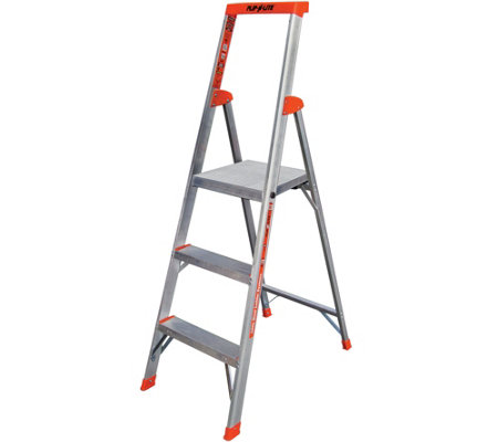 Little Giant 5' Flip-N-Lite Lightweight Step Ladder