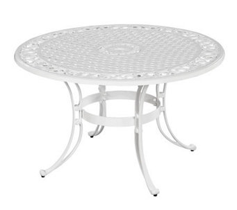 "Home Styles Biscayne 48"" Round Outdoor Dining Table - H358325"