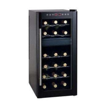 SPT 18-Bottle Wine Cooler Dual Zone with Heating