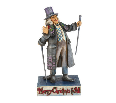 "Jim Shore Heartwood Creek A Christmas Carol ""Scrooge"" Figurine"