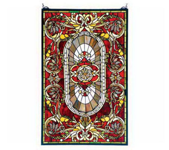 Tiffany Style Regal Splendor Window Panel - H131426