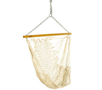 Pawleys Island Single Cotton Rope Swing - H187026