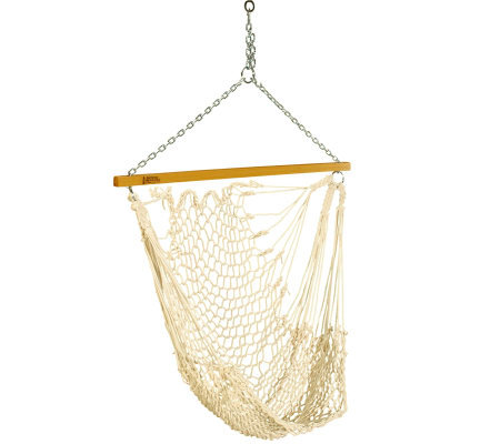 Pawleys Island Single Cotton Rope Swing