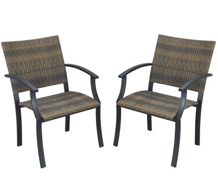 Home Styles Newport Armchair - Set of 2