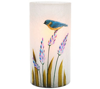"Candle Impressions 7"" Hand Painted Luminary Vase - H204526"