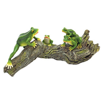 Design Toscano Froggy Business Garden Statue - H284426