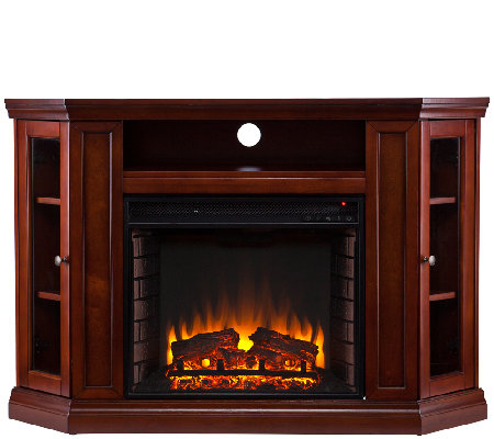 Adrian Convertible Media Electric Fireplace