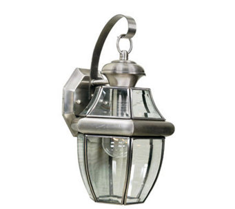 Quoizel Newbury Pewter Outdoor Sconce - H139427