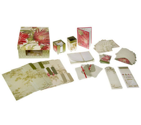 47-piece Holiday Stationery Set by DesignScapes