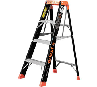 Little Giant MicroBurst 4' Fiberglass Ladder - H287827