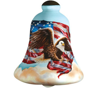 Liberty Eagle Ornament by Ne'Qwa - H289127