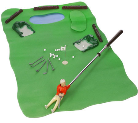 arnold palmer mini indoor golf game w accessories. Black Bedroom Furniture Sets. Home Design Ideas