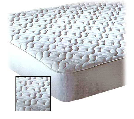 Quilted Top Mattress Pad - Twin