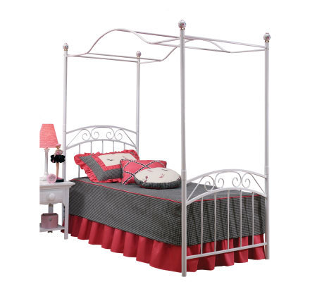 Hillsdale House Emily Canopy Bed - Twin