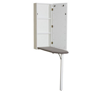 Wall-Mount Ironing Center - White - H179828