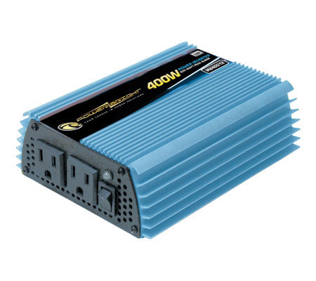 12 Volt DC to AC 400 Watt Power Inverter
