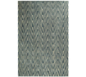 Thom Filicia 4' x 6' Griffith Park Handtufted Wool/Viscose Ru - H186528
