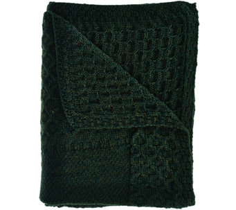 Kilronan Merino Wool Holiday Throw Blanket - H209028
