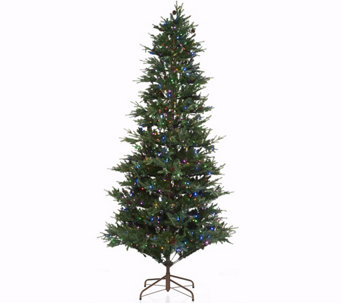 ED On Air Santa's Best 9' Rustic Spruce Tree by Ellen DeGeneres - H209428